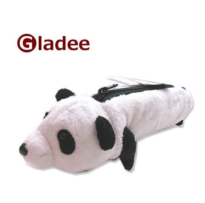 グラディー GLADEE パンダの乗り物ペンケース   ペンケース 筆箱ケース ふでばこ トラベルポーチ コスメポーチ 化粧ポーチ マルチポーチ ギフト プレゼント