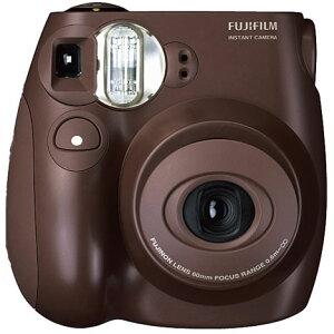 FUJIFILM instax mini 7S チェキ Choco(チョコ)接写レンズ・デコシール付