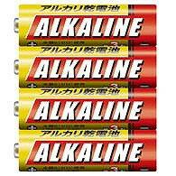 三菱単4アルカリ乾電池400本LR03R/4S(4本パックx100)【お取り寄せ】 【送料無料】