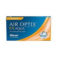 【4箱セット】【送料無料】エアオプティクスEXアクア1ヶ月使い捨て3枚入4箱セット(AIROPTIXEXAQUA)(O2オプティクス)