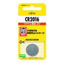 富士通 FDK リチウムコイン電池 3V CR2016C(B...