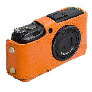 RICOH GR DIGITAL III 専用カメラケースハクバ(HAKUBA)本革ボディスーツ DBS-GR3CM (キャメル)