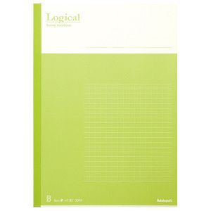 Nakabayashi(ナカバヤシ) Logical スイング ロジカルノート B5 B罫 グリーン ノ-B501B-G 【お取り寄せ】