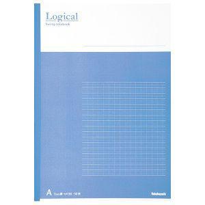 Nakabayashi(ナカバヤシ) Logical スイング ロジカルノート B5 A罫 ブルー ノ-B501A-B 【お取り寄せ】