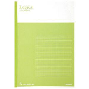 Nakabayashi(ナカバヤシ) Logical スイング ロジカルノート B5 A罫 グリーン ノ-B501A-G 【お取り寄せ】