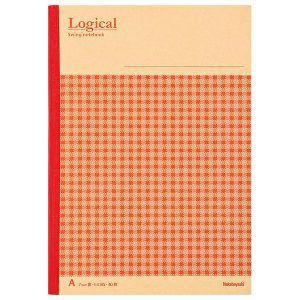 Nakabayashi(ナカバヤシ) Logical スイング ロジカルノート「クラフト・チェック」 B5 A罫 レッド ノ-B506A-R 【お取り寄せ】