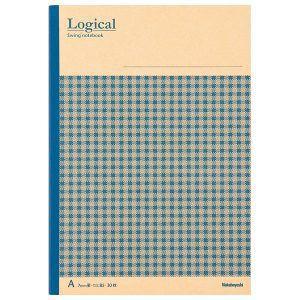 Nakabayashi(ナカバヤシ) Logical スイング ロジカルノート「クラフト・チェック」 B5 A罫 ブルー ノ-B506A-B 【お取り寄せ】