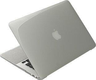 【あす楽対応】【送料無料】パワーサポート エアージャケット Apple MacBook Air 13インチ用カバー(クリアブラック)[2012年6月発売モデル対応](PMC-63)画像