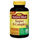 ネイチャーメイド Super B-Complex with Vitamin C and Folic Acid 460タブレット / Nature Made