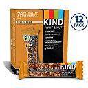 ●KIND Bars, Peanut Butter & Strawberry(ピーナッツバター&ストロベリー) 40g×12袋