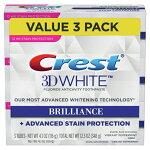 クレスト3Dホワイトブリリアンス歯磨き粉116g×3お買い得セット