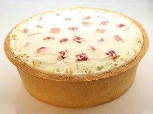 【エスキィス特製】フレッシュ苺のババロアタルトとろーりとした口溶けがやさしいプレゼントに...