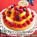 クリスマスケーキ 2019 予約 Xmasフルーツタルト16cm フルーツケーキチーズケーキ タルト ...