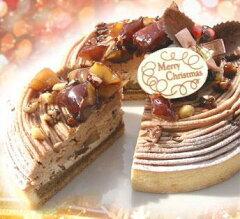 【国産栗増量】2014年Xmas栗のスペシャルクリスマスケーキ16cmモンブランみたいだけどモンブラ...