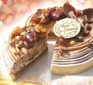 【国産栗増量】限定30名様分しかお作りしません2011年Xmas栗のスペシャルクリスマスケーキ16cm...
