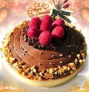 限定30名様分しかお作りしません2013年Xmas特製チョコレートクリスマスケーキ16cm後味スッキリ...