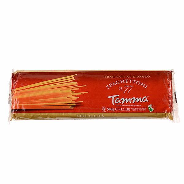 ロングパスタ, スパゲティー  No.77 2mm 500g Tamma Spaghettoni al Bronzo
