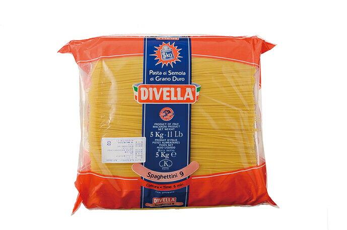 ディベラ No9 スパゲティーニ 1.55mm 5kg  DIVELLA画像
