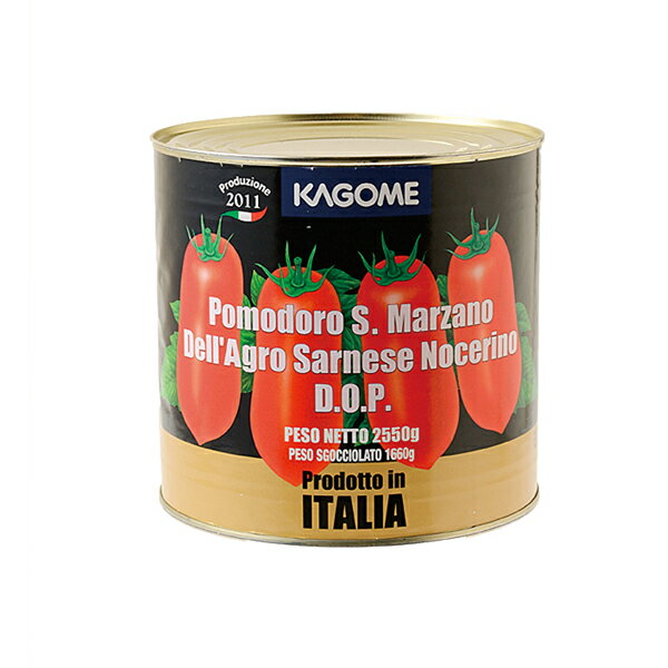 カゴメ サンマルツアーノ トマトホール #1 (2550g) 【1個口8缶まで】 | pomodoro Tomato