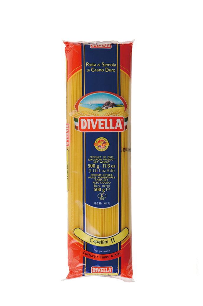 ディベラ No11 カッペリーニ 500g  DIVELLA #11 調理時間 4min Caperini画像