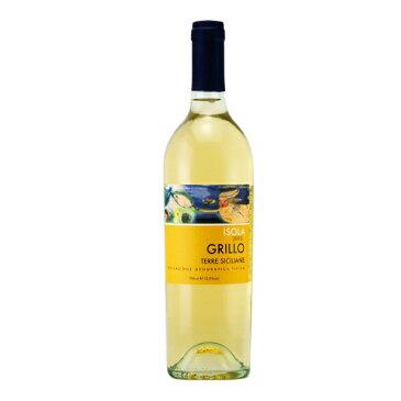 【よりどり6本以上、送料無料】 Isola Grillo Sicilia IGT 750ml イゾラ グリッロ シチリア