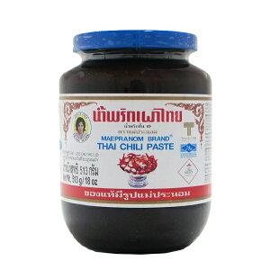辛さと甘みと酸味のバランスが絶妙です。タイチリペースト 456g ナムプリックパオ メープラ...