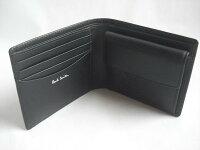 折財布ブラック(メンズ)