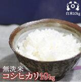 【無洗米】平成30年度福島県産コシヒカリ10kg(5kg×2袋)送料無料