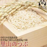 新米令和元年度福島県産天のつぶ玄米25kg又は白米22.5kg【smtb-TD】【tohoku】【送料無料】