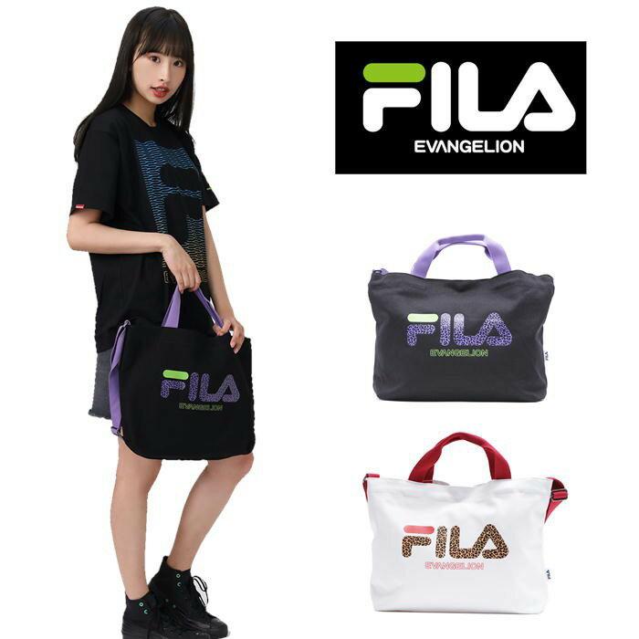 男女兼用バッグ, トートバッグ 10RADIO EVA FILA EVANGELION LIMITED 2way 8FEV2