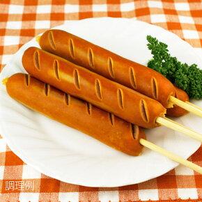 串フランク90g×5本 ジェフダ フランクフルト ウインナー 洋風料理 【冷凍食品】【業務用食材】【10800円以上で送料無料】