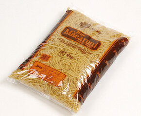 マカロニレギュラー4kg JFDA パスタ・マカロニ 洋風料理 【常温食品】【業務用食材】【8640円以上で送料無料】