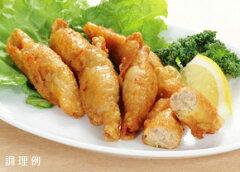 [冷凍]鶏皮ぎょうざ500g コスモフーズ鶏のモモ皮で餃子の具を包みました[冷凍食品][5400円以上...