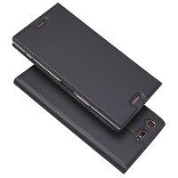 XperiaXZPremiumケースカバー財布case超薄型超軽量内蔵マグレット携帯カバーカードポケットカード入れスタンド機能シンプル落ち着いた色