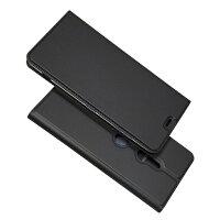 SONYXperiaXZ3ケースカバー財布case超薄型超軽量内蔵マグレット携帯カバーカードポケットカード入れスタンド機能シンプル落ち着いた色