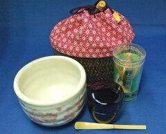 ●旅先で、ピクニックでも・・・お気軽抹茶作法【茶道具】抹茶野点セット(送料込)
