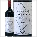 日本ワイン 赤ワイン KAMIOGINOTO 843-5 樽熟成 山形県 タケダワイナリー 750ml