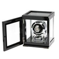 T-SELECTIONSワインディングマシーン1本巻き上げギアドライブセンターストップ機能ガラス扉T-005608