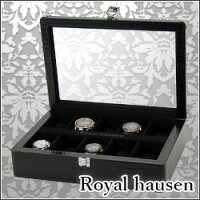 腕時計ケース/時計ケース/収納ケース/10本収納/SDPU010/ディスプレイ/黒/ブラック/メンズ/高級