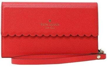 【日本在庫・即発送】ケイトスペード Kate spade 手帳型 iPhone X対応 ケース レザー 赤  WIRU0825