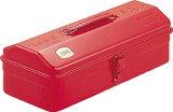 【送料無料!工具箱が超安い!】TRUSCO 山型工具箱 359X150X124 レッド Y350R [120-8110] 【スチール製工具箱】[Y-350-R]