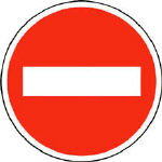 ユニット 規制標識(303)車両進入禁止...