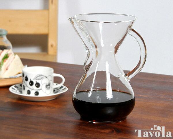 ケメックス CHEMEX コーヒーメーカー 6カップ CM-6GH ガラスハンドル付
