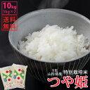 【白米】令和1年山形県産特別栽培米つや姫 10kg(5kg×...