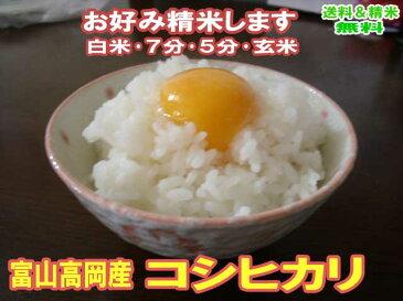 分づき米 玄米 米 10kg 特Aコシヒカリ 富山 立山入善 令和元年産 送料無料お米 分つき米