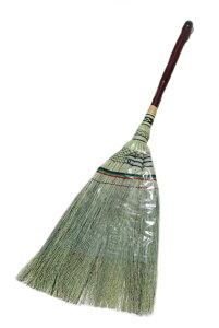 手編み座敷箒 短柄 箒 お掃除 生活雑貨 天然草 掃除用品 手編み 座敷箒 清掃用品【スーパーセール】