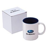 【STI-スバル】FHMY13009000陶製マグカップ美濃焼SUBARUロゴ【SaM】