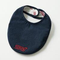 【STI-スバル】STIベビーカバーオール&スタイセット【SaM】