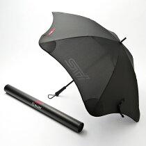 【STI-スバル】アンブレラ安全性、耐久性、傘生地の張力にこだわった風速約31m/sまで耐えられる傘アンブレラBLUNT(ブラント)社【SaM】
