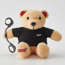 【数量限定】【STI-スバル】STIベア2016WinterコレクションかわいいクマのぬいぐるみドライビングジャケットVer【SaM】【コンビニ受取対応商品】